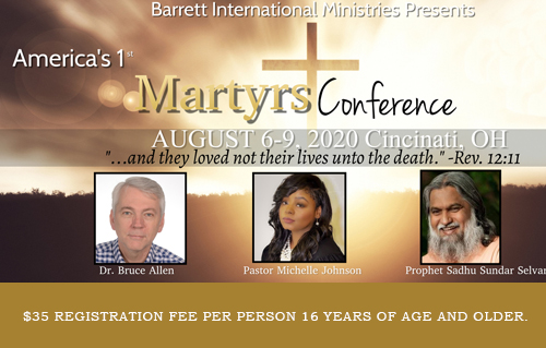 Martyrs Conference
