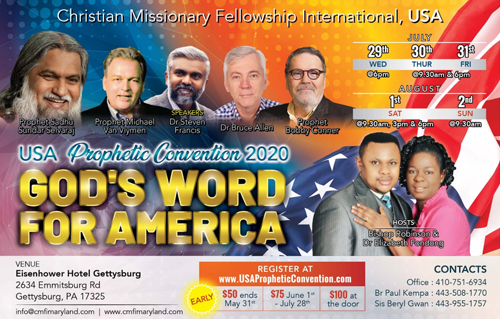 USA Prophetic Convention 2020